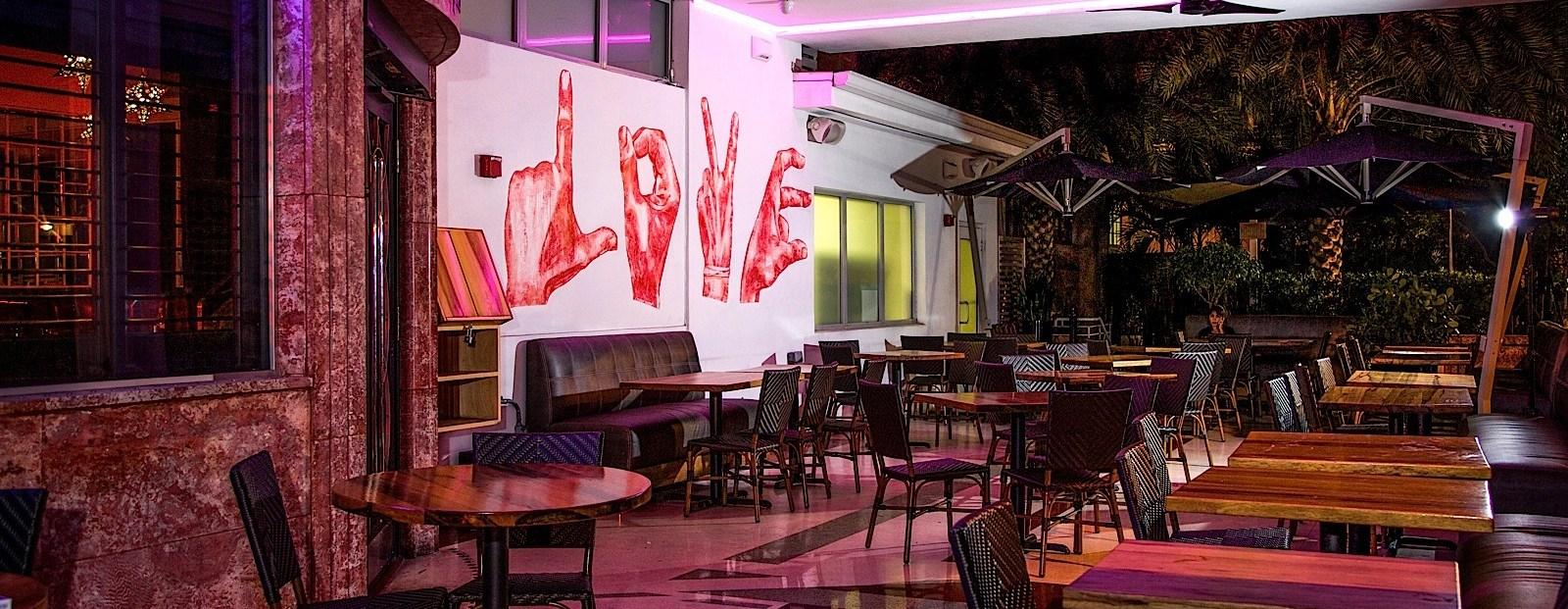 High Bar At Dream Miami Beach